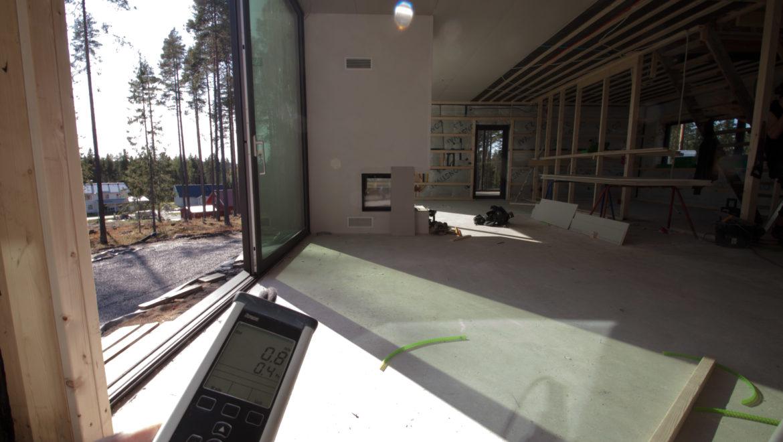 Ny villa på Eriksberg som inte läcker!