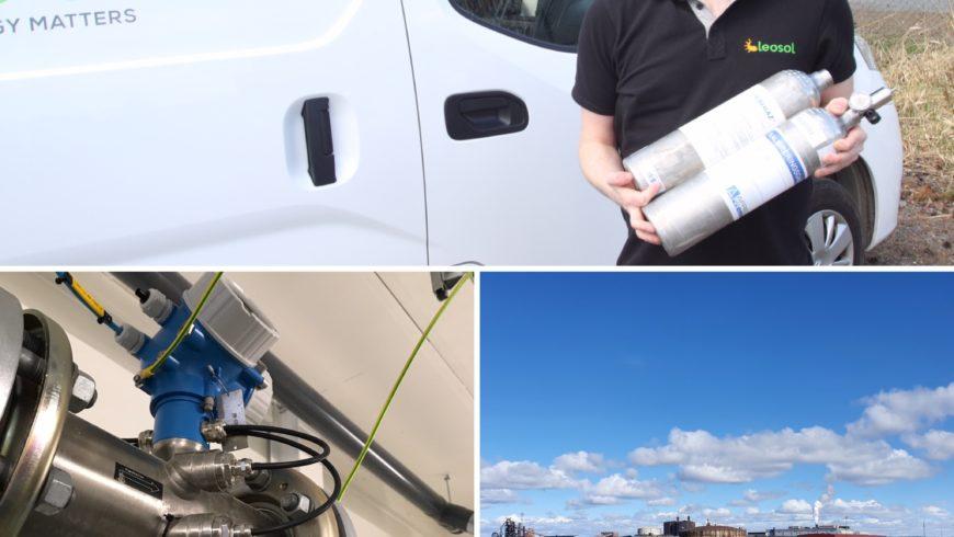 Biogas är höjden av återvinning i vårt samhälle!