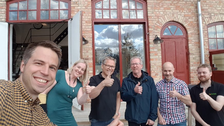 Spillvärmeprojekt på Heta Hyttan!