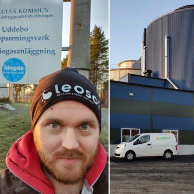 Idag åker vi till Luleå!