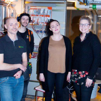 Folkparken i Skellefteå energieffektiviserar!